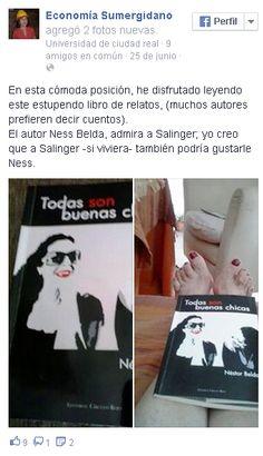 Foto y opinión de Victoria, de Sevilla Adquiere tu ejemplar en http://nessbelda.blogspot.com.es/p/comprar-todas-son-buenas-chicas.html