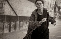 On The Libertine. Childhood to Adulthood. Mariacarla Boscono By Peter Lindbergh For Vogue Italia . September 2014. 95
