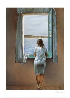 Hahmo ikkunassa (Person at the Window) Taidevedos