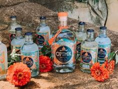 Opihr Gin Opihr Gin (pronounced 'o-peer') is an oriental spiced London Dry Gin that has been in my gin collection for a few months now. I first tasted it after buying a bottle at the Duty-Free store at the airport... The post [DRINK]: Opihr Oriental Spiced Gin appeared first on . Tonic Water, Gin And Tonic, Mixed Drinks, Fun Drinks, Colorful Elephant, London Dry Gin, Liquor Store, Coriander Seeds