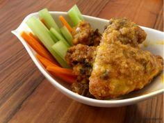 Receta de Buffalo Wings: las alitas de pollo picantes de USA Salsa Buffalo, Buffalo Wings, Pollo Kfc, Salsa Picante, Barbacoa, Cauliflower, Chicken, Vegetables, Food