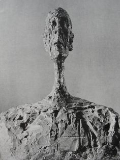 Alberto Giacometti His use of surface structure gives me chills. Alberto Giacometti, Sculptures Céramiques, Art Sculpture, Modern Sculpture, Modern Art, Contemporary Art, Ceramic Figures, Land Art, Famous Artists