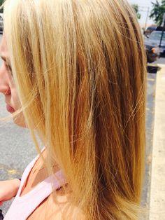 #hannahrosecolor #highlights #blonde