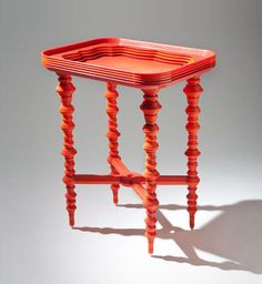Tray Table la table d'ornement par Katie Stout - Blog Esprit Design #design #furniture #mobilier
