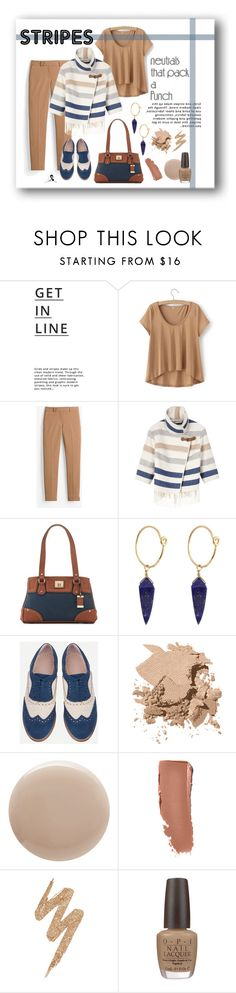 """Nock-out Nutrals"" by quicherz on Polyvore featuring Lipsy, White House Black Market, Karen Millen, Tig II by Tignanello, Theodora Warre, Bobbi Brown Cosmetics, Oribe, Urban Decay, OPI and Nuturals"