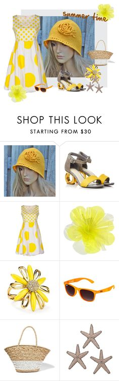 """""""Summer time"""" by degra ❤ liked on Polyvore featuring Blugirl Folies, DOUUOD, Kate Spade, Superdry and La Ligne"""