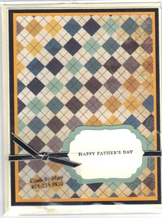Father's Day card by mware - Cards and Paper Crafts at Splitcoaststampers