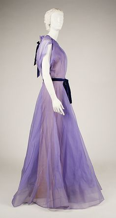Dress Design House: House of Worth (French, 1858–1956) Date: 1928–29 Culture: French Medium: silk