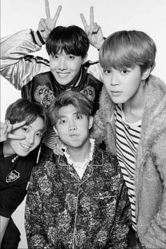 Cute~ (Jhope, Jimin, Jungkook and Rapmoster)