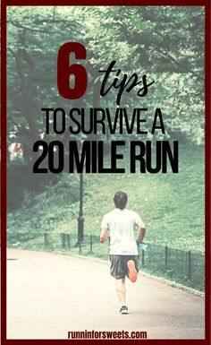 Try these 6 strategies to conquer your 20 mile run during marathon training! Check out everything you need to know for long run fueling, recovery and more. #longrun #marathontraining Marathon Gear, Half Marathon Tips, Half Marathon Motivation, First Marathon, Running Motivation, Training Schedule, Training Tips, Beginner Half Marathon Training, Long Distance Running Tips