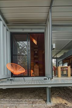 Container Retreat, Drew Heath