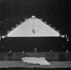 Osvaldo Licini, letto della sua casa a Monte Vidon Corrado