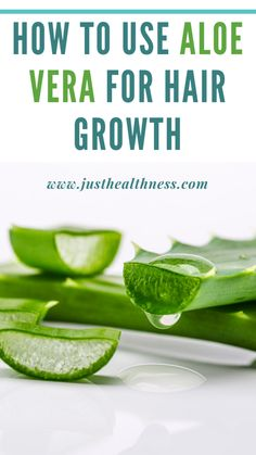 How To Use Aloe Vera For Hair Growth?:There are many ways to use Aloe Vera for hair growth while mixing with other ingredients too Fresh Aloe Vera, Aloe Vera For Hair, Aloe Vera Gel, Healthy Scalp, Healthy Hair Growth, Natural Hair Growth, Hair Hacks, Hair Tips, Home Remedies For Hair