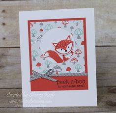 Sherry's Stamped Treasures: Let's Get Foxy with Stampin' Up!'s Foxy Friends