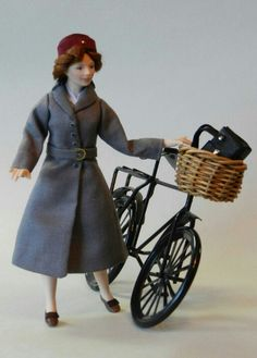 Call the midwife 1:12 scale miniature porcelain doll