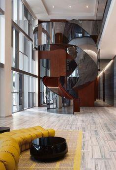 Biscayne Beauty Yabu Pushelberg Designs Miamis Brickell House Interior Design BlogsDesign