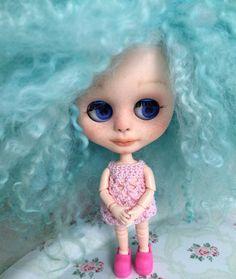 Zoey, Blythe Little Sister Custom Blyh Doll Like Middie by Emmy Blythe