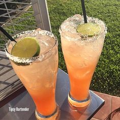 Palomas Cocktail - For more delicious recipes and drinks, visit us here: www.tipsybartender.com