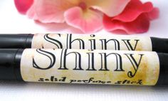 Shiny Perfume Stick Handmade Solid by WhoosSoap on Etsy, $5.00