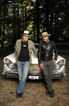 Neil Young and Daniel Lanois