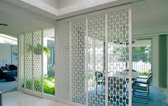 Mid Century Modern Screens For Indoor Outdoor Inspiration - Urbaneer - Toronto Real Estate, Condos, Homes House Design, Interior And Exterior, Mid Century House, House, Modern House, Modern, Modern Screens, Mid Century Decor, Outdoor Inspirations