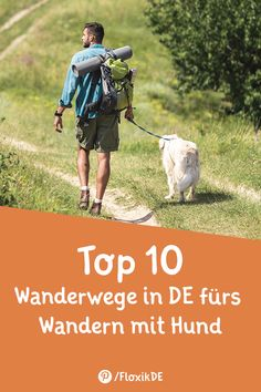 "Top 10 hiking trails in Germany for hiking with your dog - Usually there is nothing better for a dog than to make the rounds in its ""territory"". Camping Tattoo, First Class Tickets, Funny Sports Pictures, Cat Dog, Dog Tattoos, Nightlife Travel, Train Travel, Travel And Leisure, Hiking Trails"
