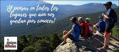 #AlfonsoyAmigos Sierra, Mtb, Nature, Travel, February 12, Pool Slides, Naturaleza, Paths, Bike