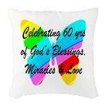 60 YR OLD PRAYER Burlap Throw Pillow http://www.cafepress.com/jlporiginals/12469561 #60thbirthday #60yearsold #Happy60thbirthday #60thbirthdaygift #60thbirthdayidea #Christian60th  #happy60th