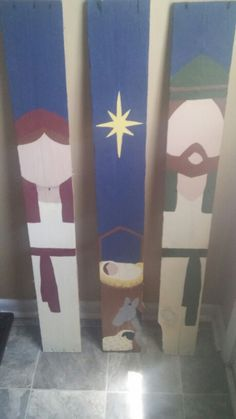 Pallet nativity