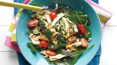 Barley Salad with Chicken and Corn