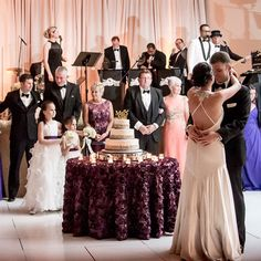 A live band or a DJ can define the atmosphere of your wedding reception — but done right, either can provide enough entertainment to keep everyone happy all night long.