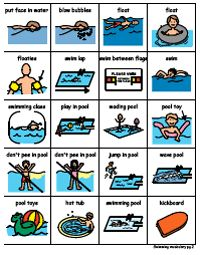 Getting kids ready for summer activities with relevant language and vocabulary. Repinned by Columbus Speech & Hearing Center. For more ideas like this visit www.pinterest.com/ColumbusSpeech