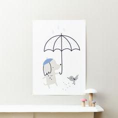 Dog Print - Little Cloud kids