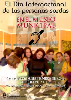 Día Internacional de las Personas Sordas en el Museo Municipal