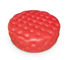 Schnapps Ottoman - Tufted and pouffy, the Schnapps Ottoman makes a great centrepiece for your living or family space. Schnapps, Fiery Red, Polyurethane Foam, Ottoman, Centerpieces, Outdoor Decor, Living Room, Space, Tips