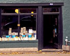 The Word · 469 Milton street, Montreal, Quebec · photograph by Mary Elam Bookstores, Libraries, Montreal Quebec, Used Books, Retail Design, Street, Vacation Ideas, Words, Photograph
