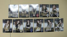 SNSD Girls Generation Baby-G Limited Official Post Card Full Set 11 Pcs in Case