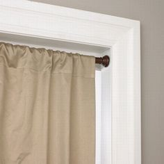 Country Curtains Sturdy In Tension Rods With Screw Mounted