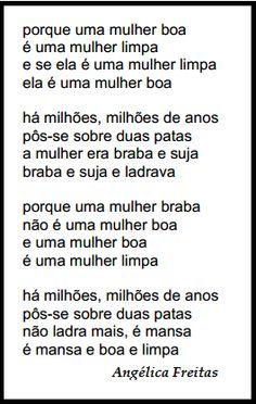 Dia da Mulher Poema de Angélica Freitas