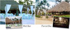 Wet Bar vs Parrot Bar | Majestic Colonial Reception Venue
