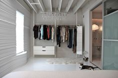 Make a closet where there is none.