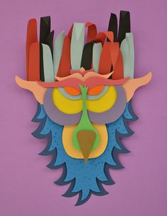 Nature Paper Mask on Behance