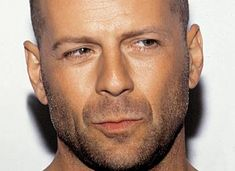 bruce willis --hair, hairpatch, or no hair---from moonlighting to die hard to being expendable this guy is mmmmm :)