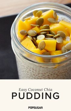 Low-Calorie and Filling, This Chia Pudding Is a Perfect Breakfast
