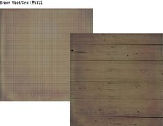 Summer Vibes Simple Basics 12x12 Paper Brown Wood/Grid