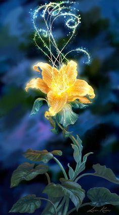 Tangled - magic flower