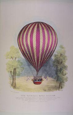 Por 1783, dos inventores franceses, los hermanos Montgolfier, Joseph Montgolfier y Jacques Montgolfier,  construyeron un vehículo volador se...