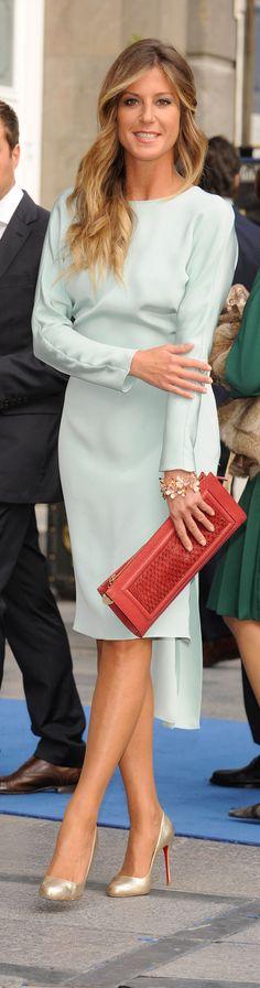 Natalia Álvarez con pulsera de Daniel Espinosa en los Premios Príncipe de Asturias