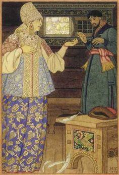 Illustration by Ivan Bilibin