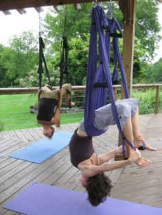 Suspension yoga - Oh, how I miss it!